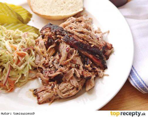 Pulled Pork / bravčové trhané mäso