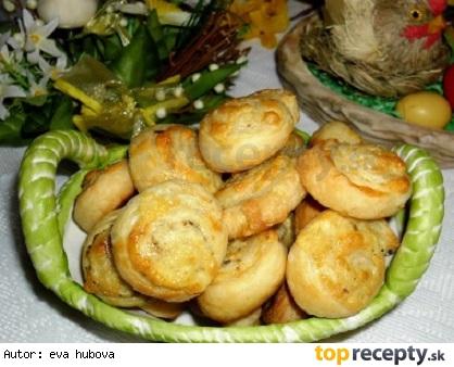 Syrové slimáčiky /Šneci se sýrem