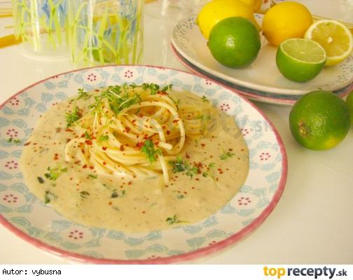 Špagety v citrónovej omáčke