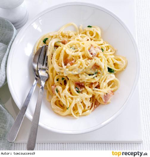 Spaghetti Carbonara - rýchle