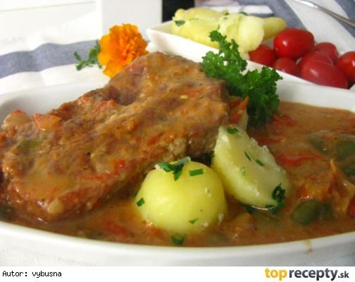 Srbské bravčové filety od mamičky