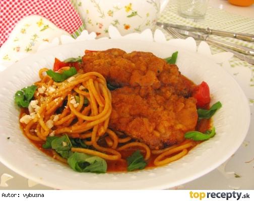 Talianske teľacie rezne v paradajkovej omáčke – Piccata alla milanese
