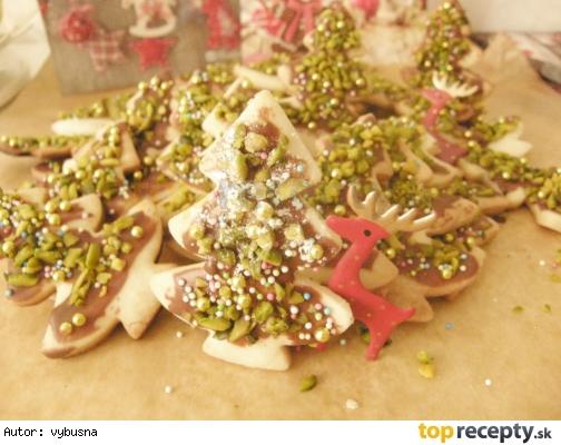 Vianočné pečivo - vianočný stromček