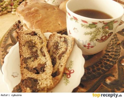 Vianočný trvanlivý koláč - medovníková roláda