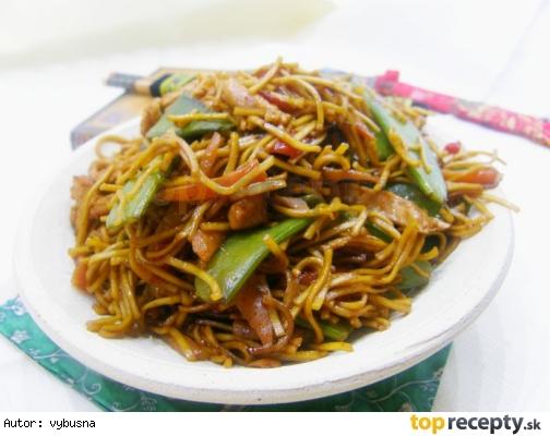 Wok - Pražené čínske rezance